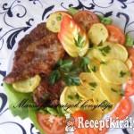 Sült tarja sült burgonyával 2