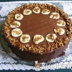 Erdei gyümölcsös csoki mousse torta 1