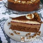Erdei gyümölcsös csoki mousse torta 3