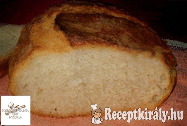 Hűtőben kelt házi kenyér