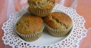 Mákos-mazsolás muffin