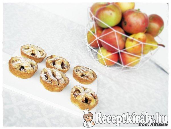 Mini almás piték