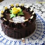 Mogyorókrémes csokoládés torta 1
