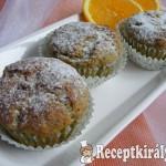 Narancsos-mákos muffin 1