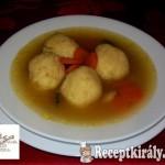 Sajtgombóc leves 1