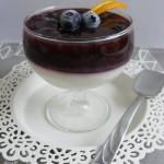 Áfonyás, vaníliás panna cotta 3