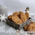 Csokidarabos, mandulás keksz 1