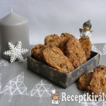 Csokidarabos, mandulás keksz 2