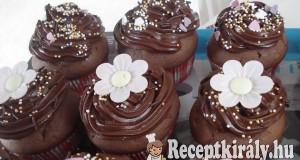 Csokikrémes muffin