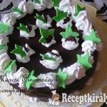 Csokis habos torta 1