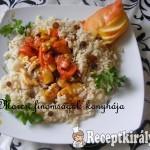 Édes csirkemell barnarizzsel 2