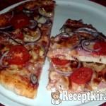 Gyors pizza házilag 1