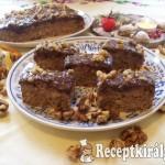 Kávékrémes diós sütemény 1