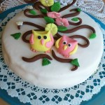 Madártejes bagoly torta
