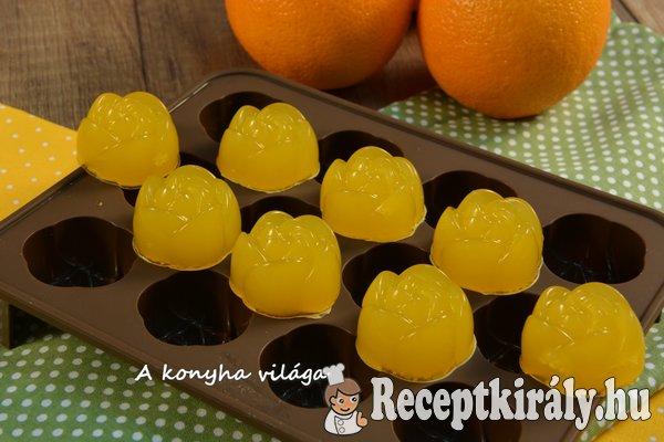 Narancsos zselé-gumicukor