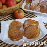 Almás-joghurtos palacsinta