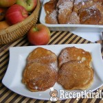 Almás-joghurtos palacsinta 2