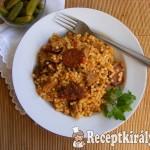 Aszalt paradicsomos tarhonyás hús 3