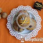 Diós-narancsos muffin, csoki darabokkal 1