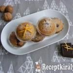 Fűszeres diós muffin 1