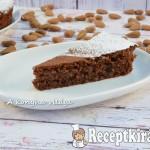 Caprese-liszt nélküli mandulás sütemény