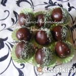 Csokis kókuszos golyó 1