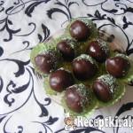 Csokis kókuszos golyó