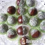 Csokis kókuszos golyó 3