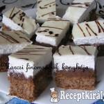 Fehér csokis habos szelet 1