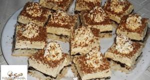 Kókuszos, vaníliás krémes sütemény