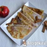 Almás-fahéjas palacsinta 1