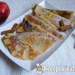Almás-fahéjas palacsinta 2