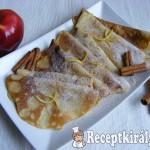 Almás-fahéjas palacsinta 3