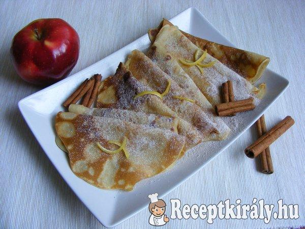 Almás-fahéjas palacsinta