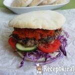 Balkán burger 2