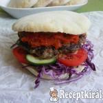 Balkán burger 3