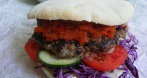Balkán burger