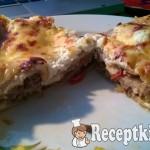 Borsikafüves marharagus lasagne