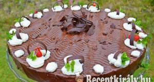 Csokikrémes torta – paleo