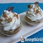 Gesztenyés-krémes cupcake 1