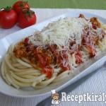 Házi bolognai spagetti 1