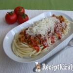 Házi bolognai spagetti 2