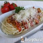 Házi bolognai spagetti 3