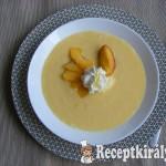 Joghurtos őszibarack leves 2