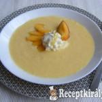 Joghurtos őszibarack leves 3