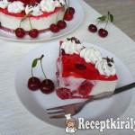 Meggyes joghurt torta 3