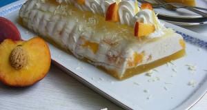 Őszibarackos-joghurtos őzgerinc