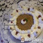 Sütés nélküli gesztenye torta 1