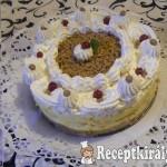 Sütés nélküli gesztenye torta 2