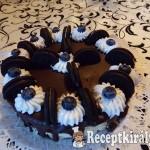 Sütés nélküli Oreo torta 2